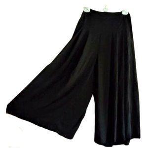 NWT high waist crop culottes wide leg pants